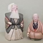 """Japanese Dolls: """"Japanese Grandma & Grandpa"""" by Kathy Urban"""