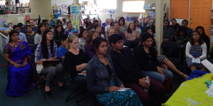 Audience at Towne Center Books